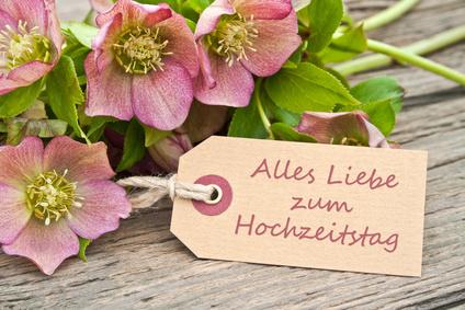 Blumen zum Hochzeitstag verschicken, Hochzeitstags Blumen per Versand ...